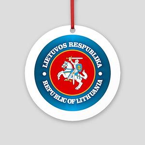 Lithuania COA rd Ornament (Round)
