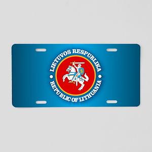 Lithuania COA rd Aluminum License Plate