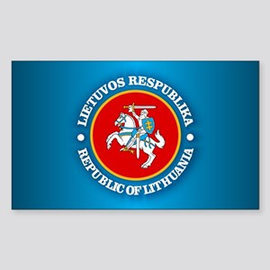 fef6f88a1b8b11 Lietuva Rectangle Stickers - CafePress