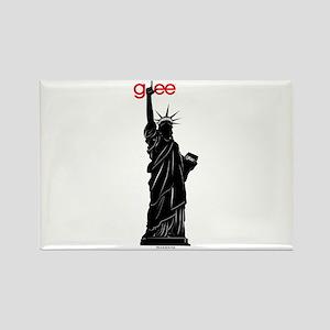 Statue of Libert-Glee Rectangle Magnet