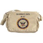 USS GEORGE E. DAVIS Messenger Bag