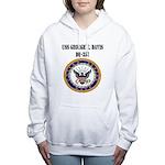 USS GEORGE E. DAVIS Women's Hooded Sweatshirt