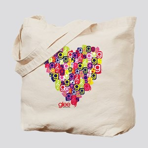Glee Heart Tote Bag