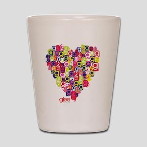 Glee Heart Shot Glass