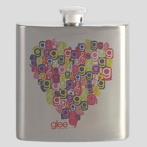 Glee Heart Flask