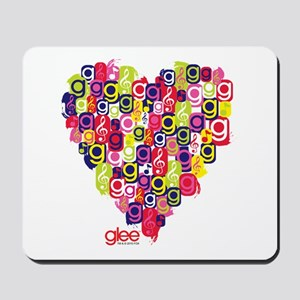 Glee Heart Mousepad