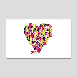 Glee Heart Car Magnet 20 x 12