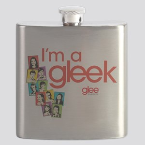 Glee Photos Flask