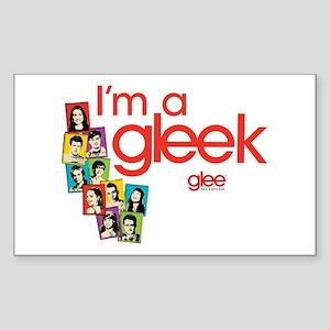 Glee Photos Sticker (Rectangle)