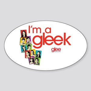 Glee Photos Sticker (Oval)