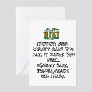 Beer Drinking Greeting Cards
