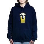 Beer Head Women's Hooded Sweatshirt