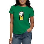 Beer Head Women's Dark T-Shirt