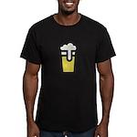 Beer Head Men's Fitted T-Shirt (dark)