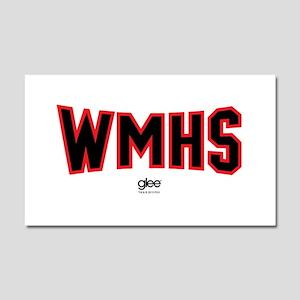 Glee WMHS Car Magnet 20 x 12