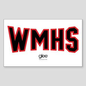 Glee WMHS Sticker (Rectangle)