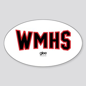 Glee WMHS Sticker (Oval)