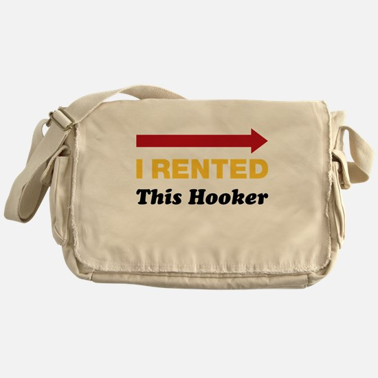 Eastbound and Down: Rented Hooker Messenger Bag