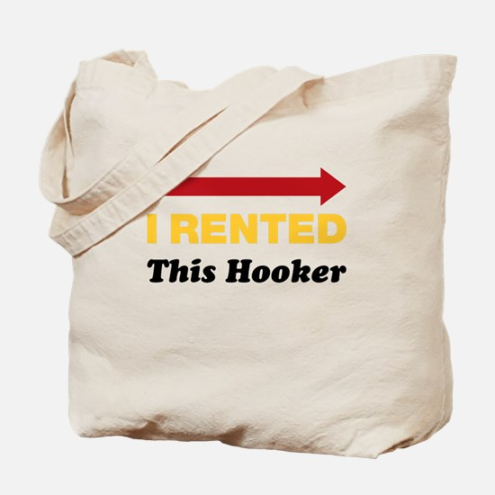 Eastbound and Down: Rented Hooker Tote Bag