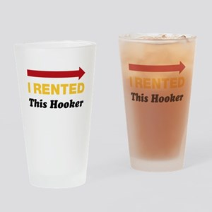 Eastbound and Down: Rented Hooker Drinking Glass