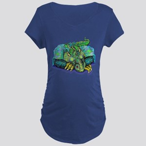 SLEEPING DRAGON Maternity T-Shirt