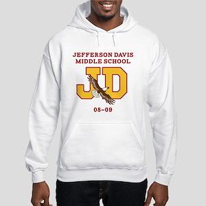 Jefferson Davis Middle Hooded Sweatshirt