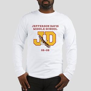 Jefferson Davis Middle Long Sleeve T-Shirt