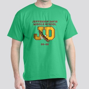 Jefferson Davis Middle Dark T-Shirt