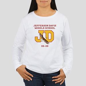 Jefferson Davis Middle Women's Long Sleeve T-Shirt
