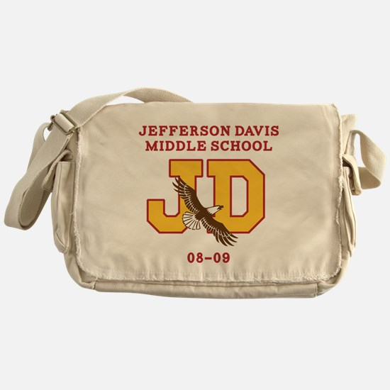 Jefferson Davis Middle Messenger Bag