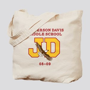 Jefferson Davis Middle Tote Bag