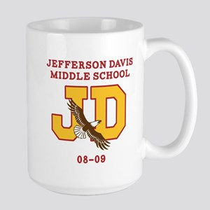 Jefferson Davis Middle Large Mug