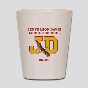 Jefferson Davis Middle Shot Glass
