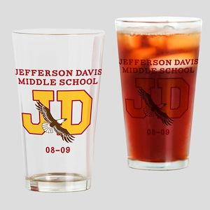 Jefferson Davis Middle Drinking Glass