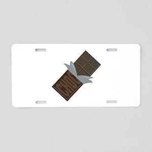 Chocolate Bar Aluminum License Plate