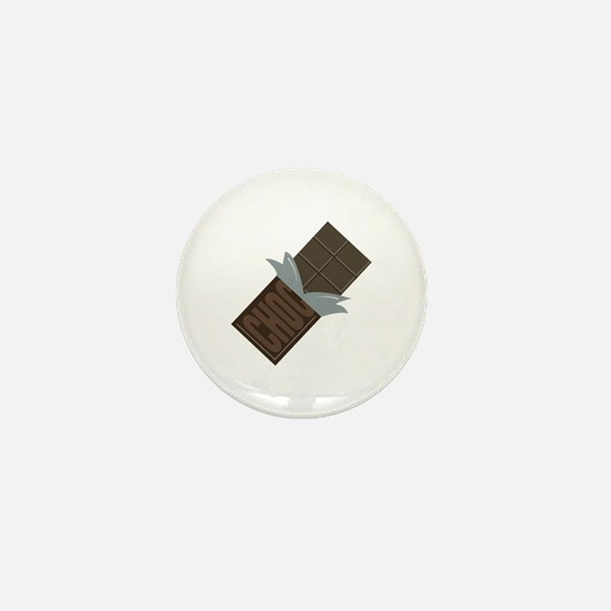 Chocolate Bar Mini Button