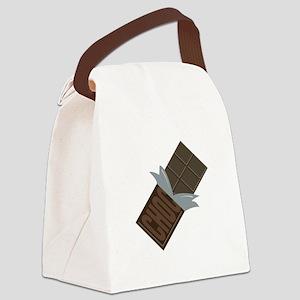 Chocolate Bar Canvas Lunch Bag