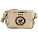 USS GENDREAU Messenger Bag