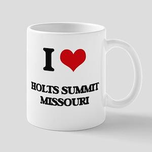 I love Holts Summit Missouri Mugs