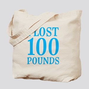 I Lost 100 Pounds Tote Bag