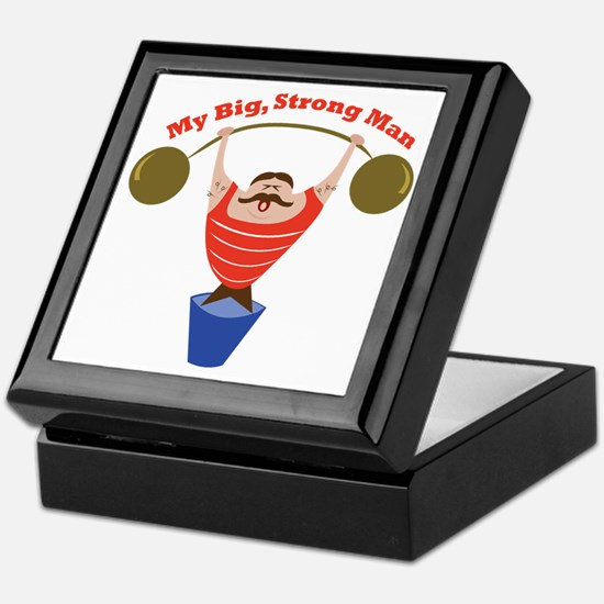 Big Strong Man Keepsake Box