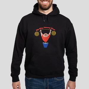 Big Strong Man Hoodie