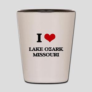 I love Lake Ozark Missouri Shot Glass