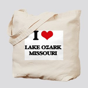 I love Lake Ozark Missouri Tote Bag