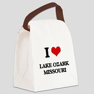 I love Lake Ozark Missouri Canvas Lunch Bag