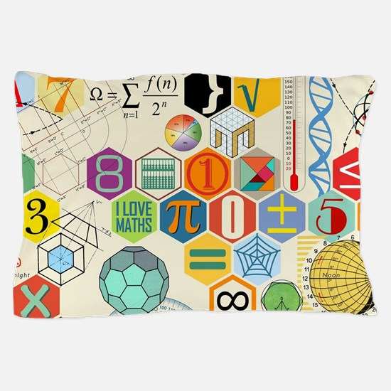 Cute Math Pillow Case