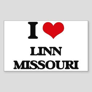 I love Linn Missouri Sticker