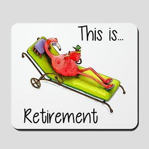 Retirment Mousepad