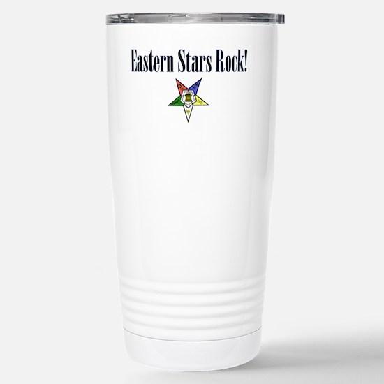 Eastern Stars Rock Stainless Steel Travel Mug