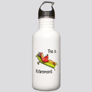 Retirment Water Bottle